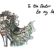 To the Doctor to my Idris Card by mcfoily