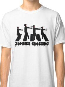 Zombies Crossing T-Shirt Classic T-Shirt
