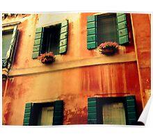 A Venetian edifice Poster
