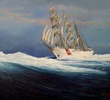 United States Coast  Guard Barque Eagle by cgret82