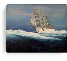 United States Coast  Guard Barque Eagle Canvas Print