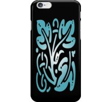 Smartphone Case - Abstract Botanical - Light Cyan iPhone Case/Skin
