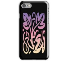 Smartphone Case - Abstract Botanical - Yellow Pink Purple iPhone Case/Skin