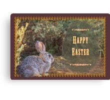 A bit wild for Easter Canvas Print