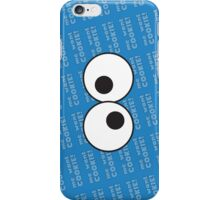Cookie monster iconic (Me want Cookie) iPhone Case/Skin