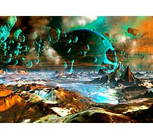 When Worlds Collide Photographic Print