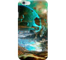 When Worlds Collide iPhone Case/Skin