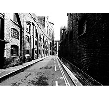 London docks Photographic Print
