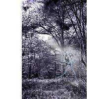 Jigsaw Man Photographic Print