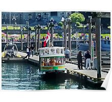 Victoria Water Taxi Poster