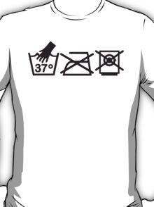 Baby/human wash tag T-Shirt