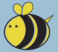 Cute little bumble fat bee Baby Tee