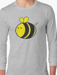 Cute little bumble fat bee Long Sleeve T-Shirt