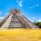 El Castillo - Chichen Itza Mayan Ruins by Mark Tisdale