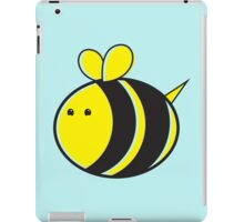 Cute little bumble fat bee iPad Case/Skin