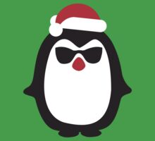 Santa penguin by LaundryFactory