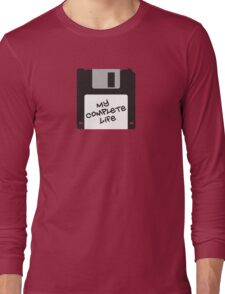 Floppy disk Long Sleeve T-Shirt