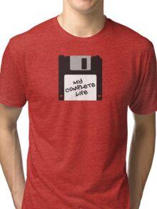 Floppy disk Tri-blend T-Shirt