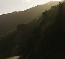 Road snaking to  Bozdag Valley by AlaraIpek