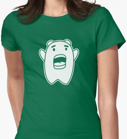 Bazinga Scream Womens Fitted T-Shirt