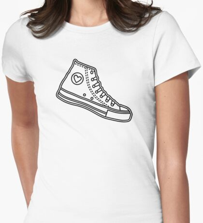Chucks Womens Fitted T-Shirt