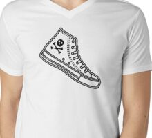 Chucks Mens V-Neck T-Shirt