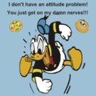 Attitude Problem - Donald by marinasinger