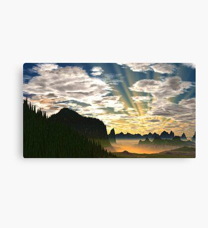Dawn - Footloose Canvas Print