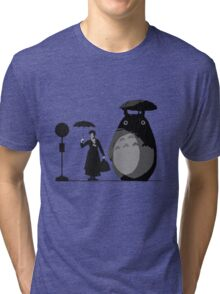 mary and totoro Tri-blend T-Shirt