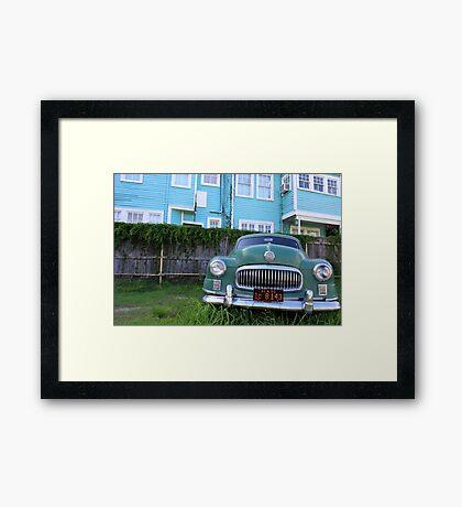 Pan AM #33 - Cruiser Framed Print
