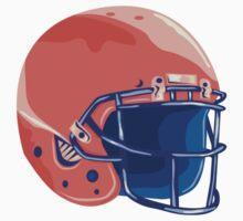 American Football Helmet WPA by patrimonio