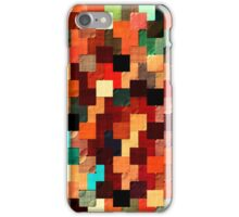 relief tetris structure iPhone Case/Skin