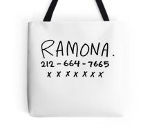 RAMONA FLOWERS Tote Bag