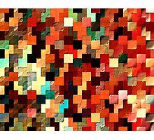 relief tetris structure Photographic Print