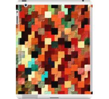 relief tetris structure iPad Case/Skin