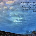 Behold, the Glory of the God of Israel! by aprilann
