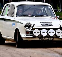 Lotus Cortina MK1 by Willie Jackson