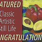 Classic Artistic Still Life Group: Feature Banner by Shani Sohn