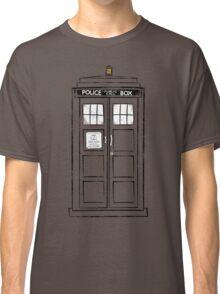 Tardis (trashy) Classic T-Shirt