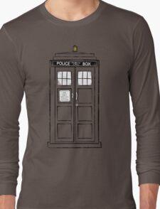 Tardis (trashy) Long Sleeve T-Shirt