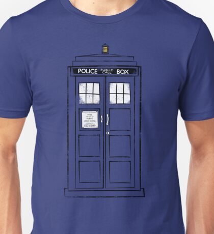 Tardis (trashy) Unisex T-Shirt