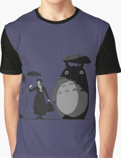 mary and totoro Graphic T-Shirt