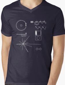 The Golden Record (Voyager) Mens V-Neck T-Shirt