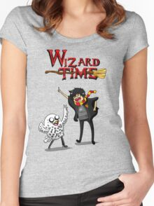 Wizard Time! Women's Fitted Scoop T-Shirt