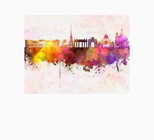 Saint Petersburg skyline in watercolor background Unisex T-Shirt