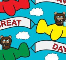 Flying Bears Sticker