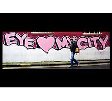 Eye Love My City Photographic Print
