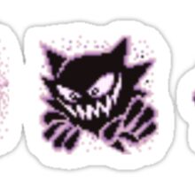 Gastly evolution  Sticker