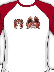 Krabby evolution  T-Shirt