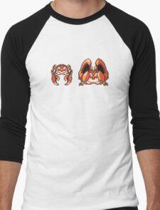 Krabby evolution  Men's Baseball ¾ T-Shirt